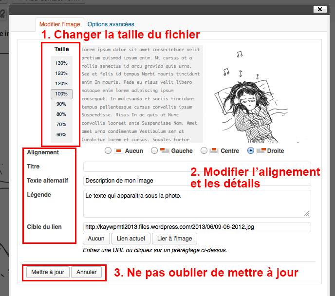 Étape 04 - Insérer une image dans WordPress