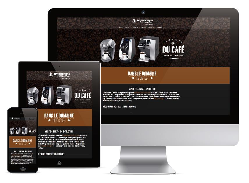 Site Internet : Distribution Clément