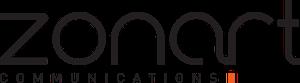 logo zonart communications